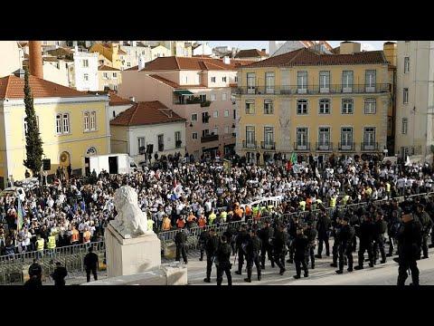 Πορτογαλία: Χιλιάδες αστυνομικοί στους δρόμους