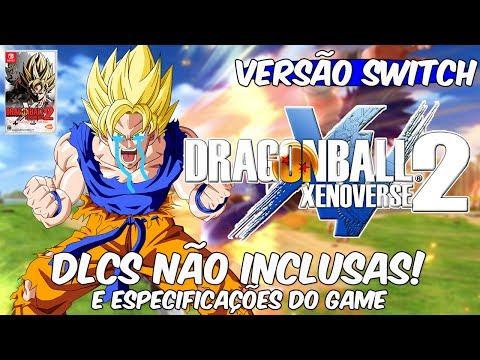 Skype - Dragon Ball XENOVERSE 2 - VERSÃO SWITCH SEM DLC'S INCLUSOS! (CAPA/ESPECIFICAÇÕES)