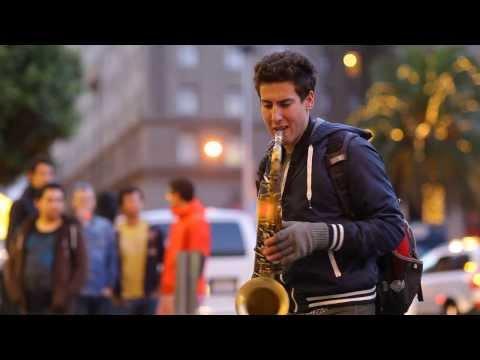 let her go  mot ban cover saxophone qua tuyet  doi khi nguòi nghẹ sỹ khong càn phải có bàng cáp... nge và cảm nhạn