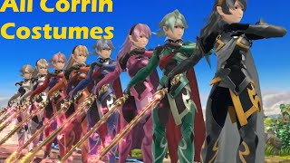 All of Corrin Costumes, Final Smash, etc.