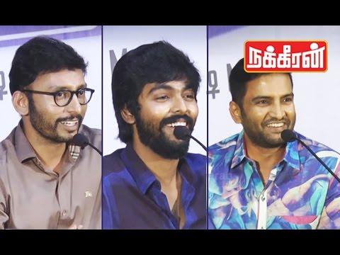 Kadavul-Irukaan-Kumaru-Teaser-Launch-Santhanam-GV-Prakash-RJ-Balaji-comedy-speech