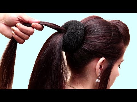 Easy hairstyles - Easy & beautiful hairstyle for girls  hair style girl  Hairstyles for thin Hair  2019 hairstyles