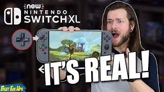 A NEW Nintendo Switch XL/PRO Model COMING 2019!