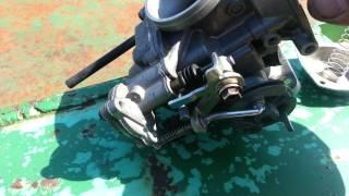 10. Honda rebel 250 carburetor