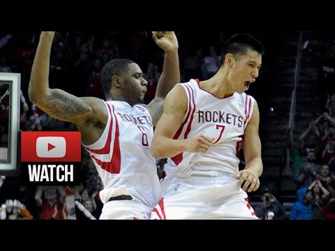 31 - LIKE MY FACEBOOK FOR MORE: https://www.facebook.com/GDFactoryEntertainment Jeremy Lin scored 31 points off the bench, Dwight Howard had 18 points and 24 rebo...