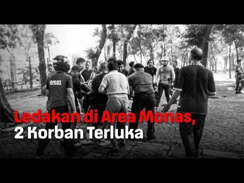 Ledakan di Area Monas, 2 Korban Terluka