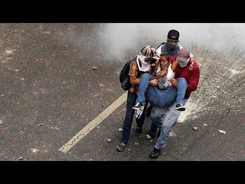 Βενεζουέλα: Σοβαρά επεισόδια σε διαδήλωση κατά της κυβέρνησης Μαδούρο