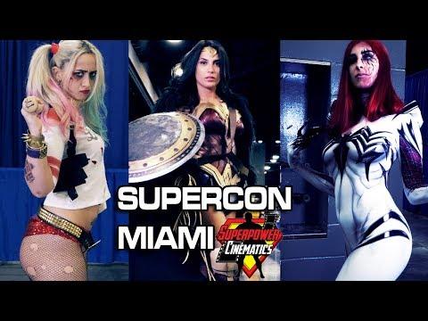 Supercon Miami Cosplay Cinematic 2019