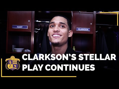 Video: Jordan Clarkson Continued His Stellar Play In Lakers Win Over New York Knicks