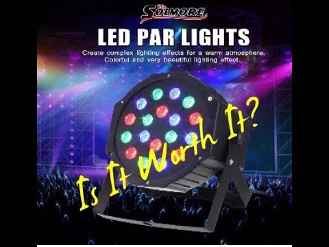 Solmore LED Par Lights Stage Lighting Review. Is It Worth It?