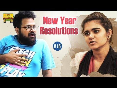 New Year Resolutions | LOL OK Please - Comedy Web Series | Episode #15 | Telugu