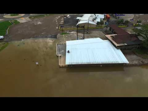 A must see!  Drone captures Port Vincent flooding along the Amite!