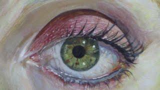 C mo pintar un ojo realista con acr lico paso a paso - Pintar con acrilicos paso a paso ...