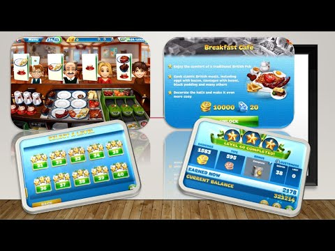 【Cooking Fever】Breakfast Cafe Level 40 (3stars)