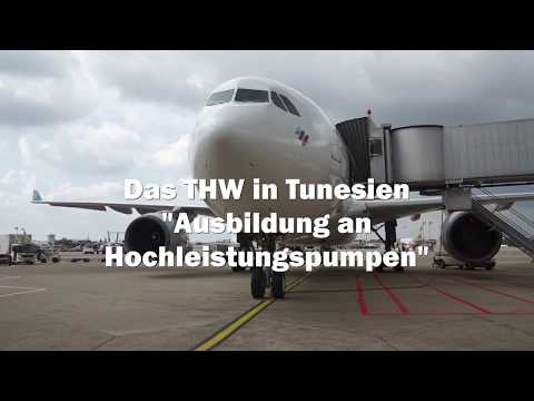 Das THW in Tunesien - Hochwasserschutz international