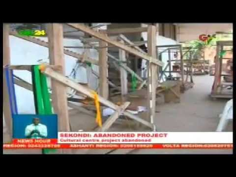 Sekondi Centre For National Culture Abandoned