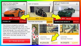 GTA ONLINE NEW DLC CONTENT DETAILS - SECRET EXCLUSIVE SALES, HIDDEN DISCOUNTS & TARGETED BONUSES!►Cheap GTA 5 Shark Cards & More Games: https://www.g2a.com/r/mrbossftw►Find Out What I record With: http://e.lga.to/MrBoss My Facebook: https://www.facebook.com/MrBossFTWMy Snapchat:https://www.snapchat.com/add/MrBossSnapsMy Twitter: https://twitter.com/#!/mrbossftwMy Instagram:http://instagram.com/jamesrosshudginsFollow THE SQUAD:►Garrett (JoblessGamers) - https://www.youtube.com/Joblessgamers►DatSaintsfan - https://www.youtube.com/360NATI0N►MrBossFTW - https://www.youtube.com/MrBossFTWFollow Knifeguy (HE MAKES MY THUMBNAILS):https://www.youtube.com/channel/UCyvCZpUaXfCAYNHscgg8QrQCheck out more of my GTA 5 & GTA 5 Online videos! I do a variety of GTA V tips and tricks, as well as funny moments and information content all revolving around the world of Grand Theft Auto 5: http://www.youtube.com/playlist?list=PL4P1Iz2th7dUuZBXXYz8Wj5G4gQrM4bf1Hope you enjoyed this video! Thanks guys and have an awesome day,Ross.