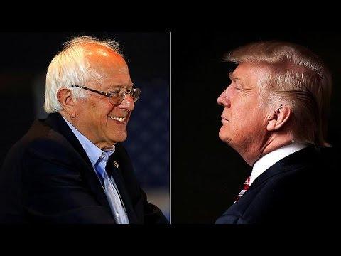 Etats-Unis : Trump et Sanders envisagent un débat TV en tête-à-tête