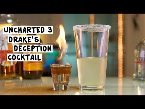 Uncharted:  Drake's Deception Cocktail - Tipsy Bartender
