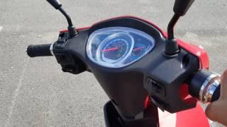 8. 500 Watt Electric Scooter Speedster Moped With Pedals