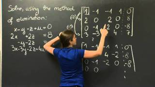 Elimination With Matrices | MIT 18.06SC Linear Algebra, Fall 2011
