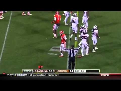 Tajh Boyd vs South Carolina 2012 video.