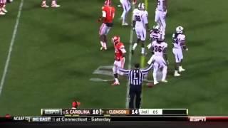 Tajh Boyd vs South Carolina (2012)