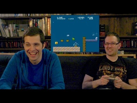 Mario / Zelda Homebrews (NES) - James & Mike Play_Legjobb vide�j�t�k vide�k