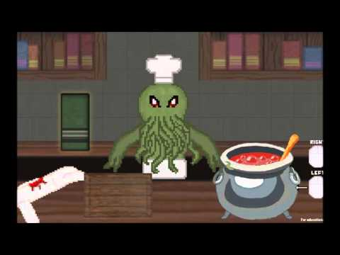 Cooking With Cthulhu - GGJ 2016