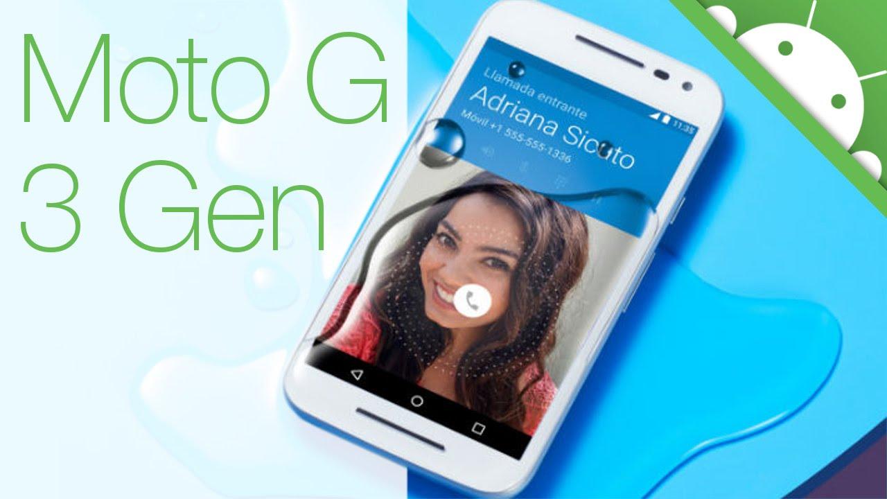 Descargar Motorola Moto G 3Gen – Tercera Generacion para Celular  #Android