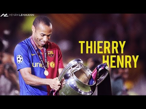 Thierry Henry ● FC Barcelona ● 2007-2010 HD