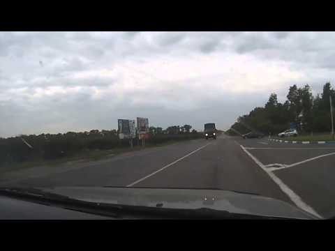 Авария с Камазом в Воронеже
