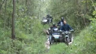 7. Rajd u Janka - K750, Ural, dnepr, m72, MT16, meeting in mountain