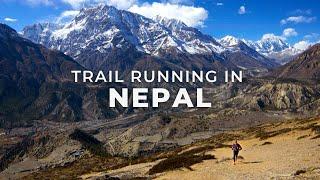 Video Trail Running in Nepal on the Annapurna Circuit MP3, 3GP, MP4, WEBM, AVI, FLV November 2018