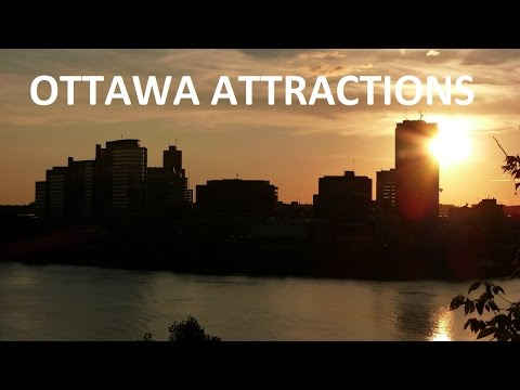 Ottawa - Ottawa Attractions - Parliament Hill, National Gallery of Canada, Notre Dame Cathedral Basilica, Byward Market, Westboro Beach, Downtown Ottawa, Rideau Canal...