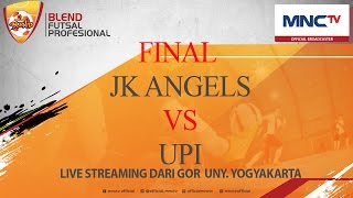 Video JK ANGELS VS UPI - GRAND FINAL (4-2) -  BLEND FUTSAL PROFESIONAL (WOMEN) [FULL] MP3, 3GP, MP4, WEBM, AVI, FLV Mei 2017