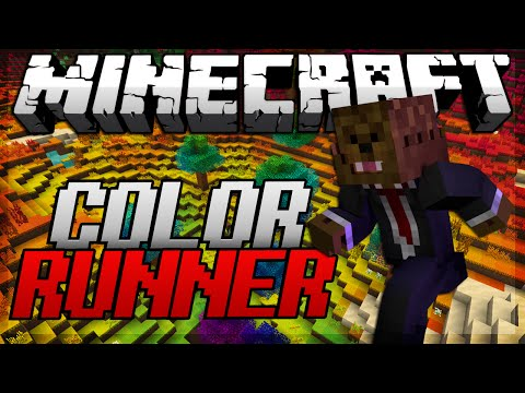 BRAND NEW Minecraft Color Runner Minigame w/ BajanCanadian & JeromeASF!