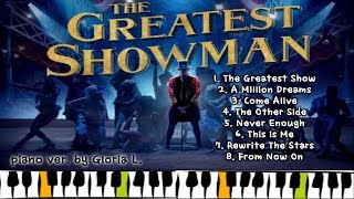 Video 위대한쇼맨 OST (The Greatest Showman OST) suit. (전곡 모음) + 악보 (Sheet) 피아노연주 / 글로리아엘 (Gloria L.) MP3, 3GP, MP4, WEBM, AVI, FLV Maret 2018