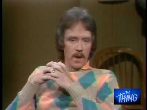 John Carpenter on David Letterman promoting THE THING - June 9th, 1982.