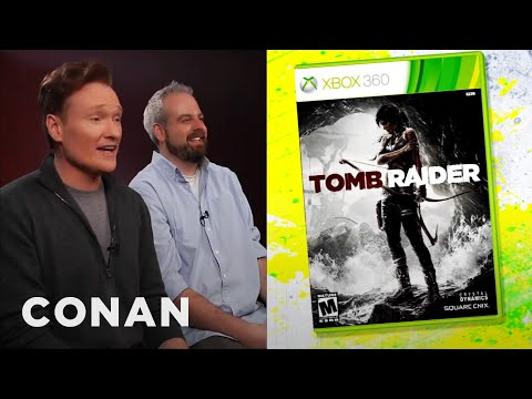 Conan O'Brien Reviews Tomb Raider