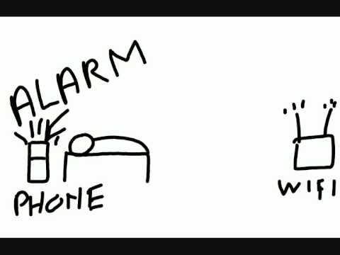 Video of Alarm Clock,wake up guaranteed