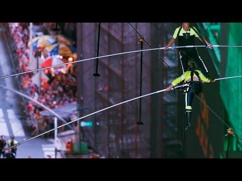 Αψηφώντας τον κίνδυνο στην Times Square
