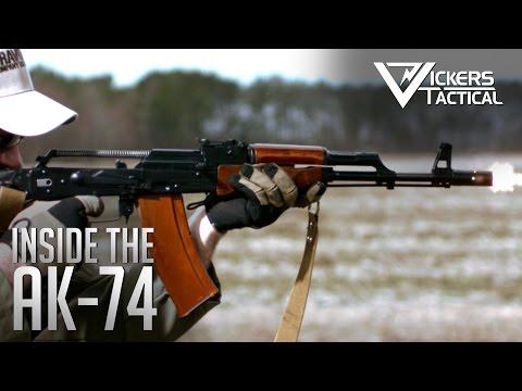你有看過在唯美的慢鏡頭下展示AK47射擊時機匣內是如何運作的嗎?