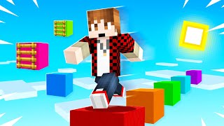 Minecraft Parkour But WE ARE IN THE SKY!