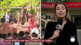 Deslizamento de terra mata 9 pessoas em Niterói (RJ)