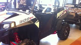 9. 2011 Polaris RZR XP 900 White Lightning LE with Pro Armor Doors