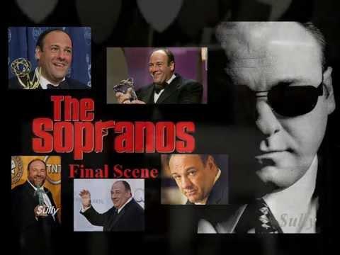 THE SOPRANOS 'james gandolfini' - Tony Soprano Final Scene