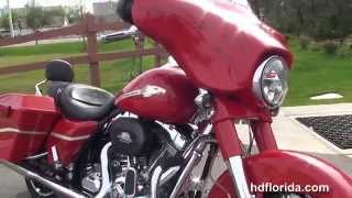 9. 2010 Harley Davidson CVO Street Glide  - Used Motorcycles for sale