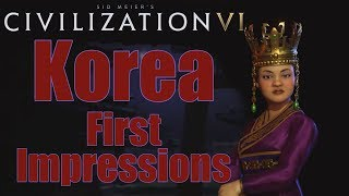 Video Civilization 6: First Impressions - Korea Civilization MP3, 3GP, MP4, WEBM, AVI, FLV Januari 2018