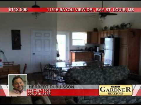 11516 Bayou View Dr.  Bay St. Louis, MS Homes for Sale | gardnerrealtors.com